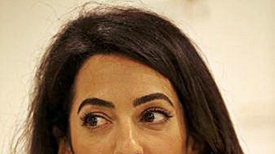 Amal Clooney dará una conferencia sobre derechos humanos en Barcelona en junio