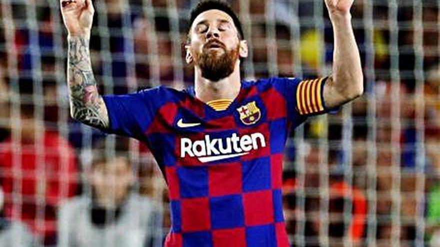 Messi admet que va voler abandonar Espanya pel seu afer amb Hisenda