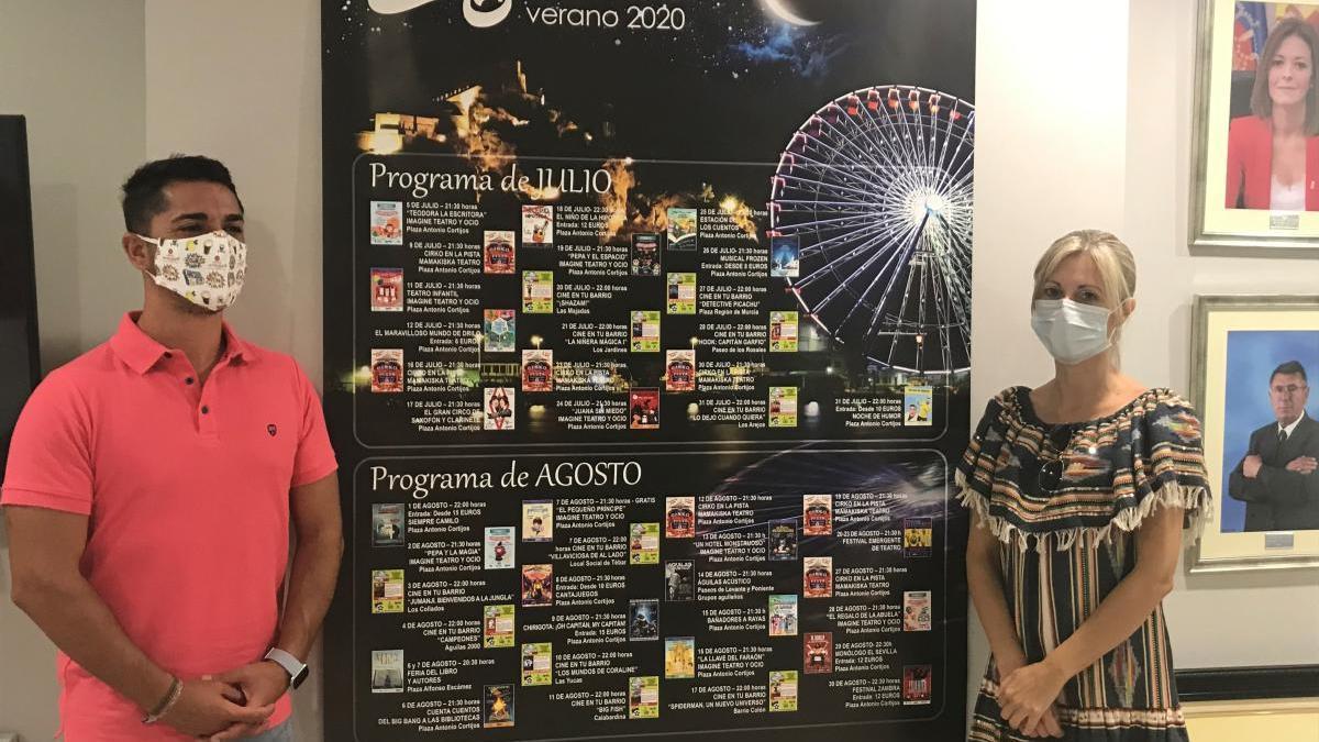 La programación cultural de verano en el municipio murciano.