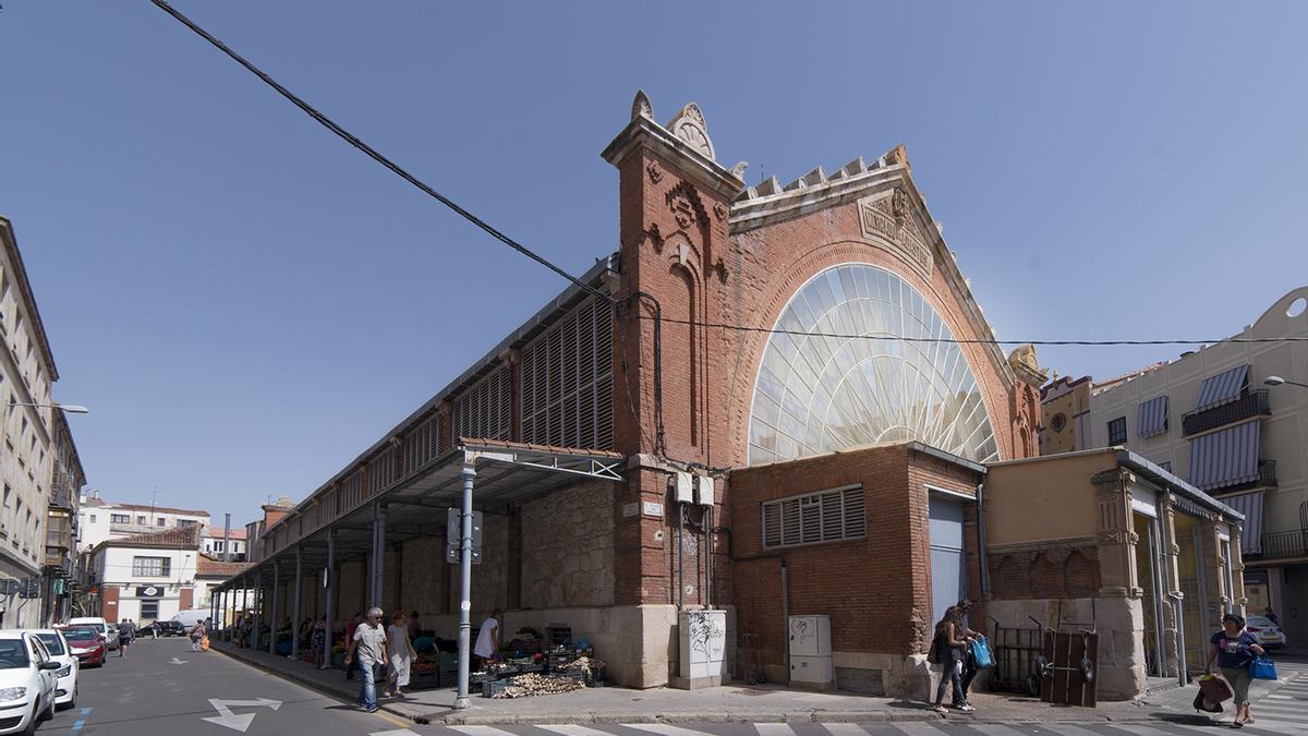 Marquesina del Mercado de Abastos de Zamora