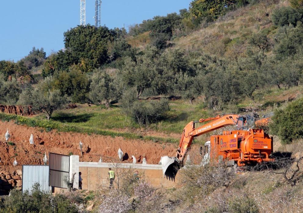 Operació de rescat d'un nen a un pou de Màlaga