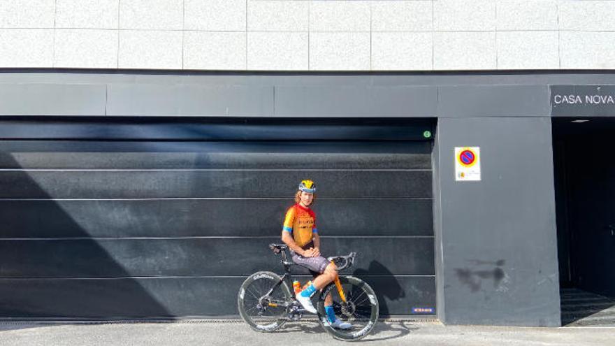 """""""Estoy diagnosticado de hiperactividad y el ciclismo me dio una vía de escape"""""""