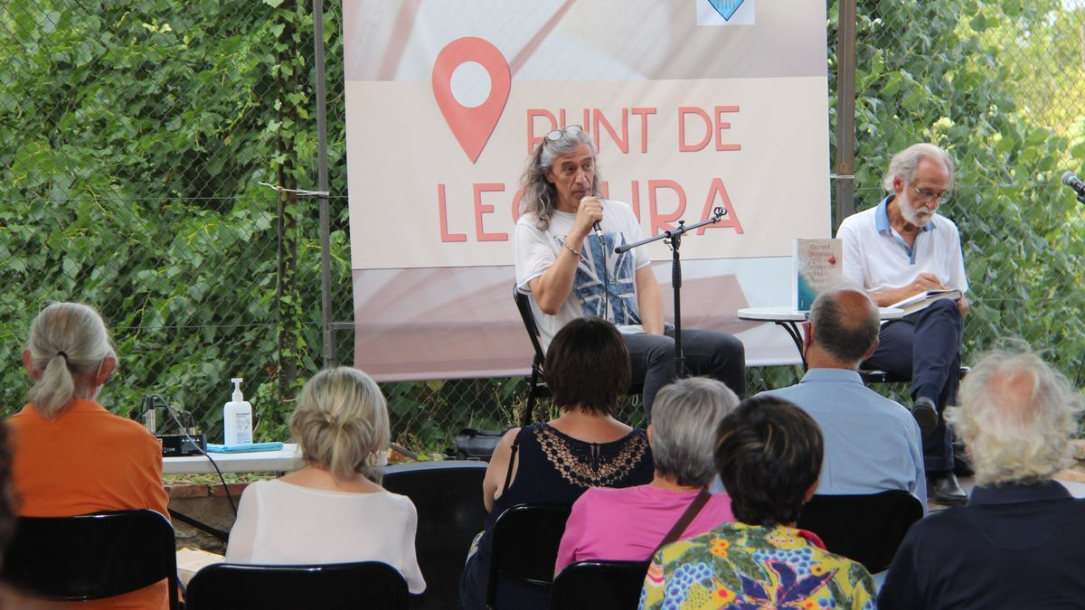 Presentació del darrer llibre de Gerard Quintana a Agullana
