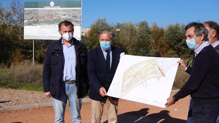 Las obras del Parque de Levante comenzarán el lunes 30 de noviembre