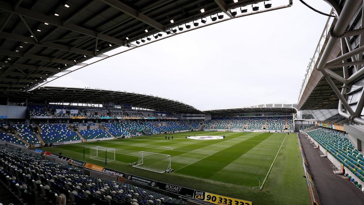 El estadio Windsor Park de Belfast, en Irlanda del Norte, acogerá la Supercopa de Europa entre el Chelsea y el Villarreal.