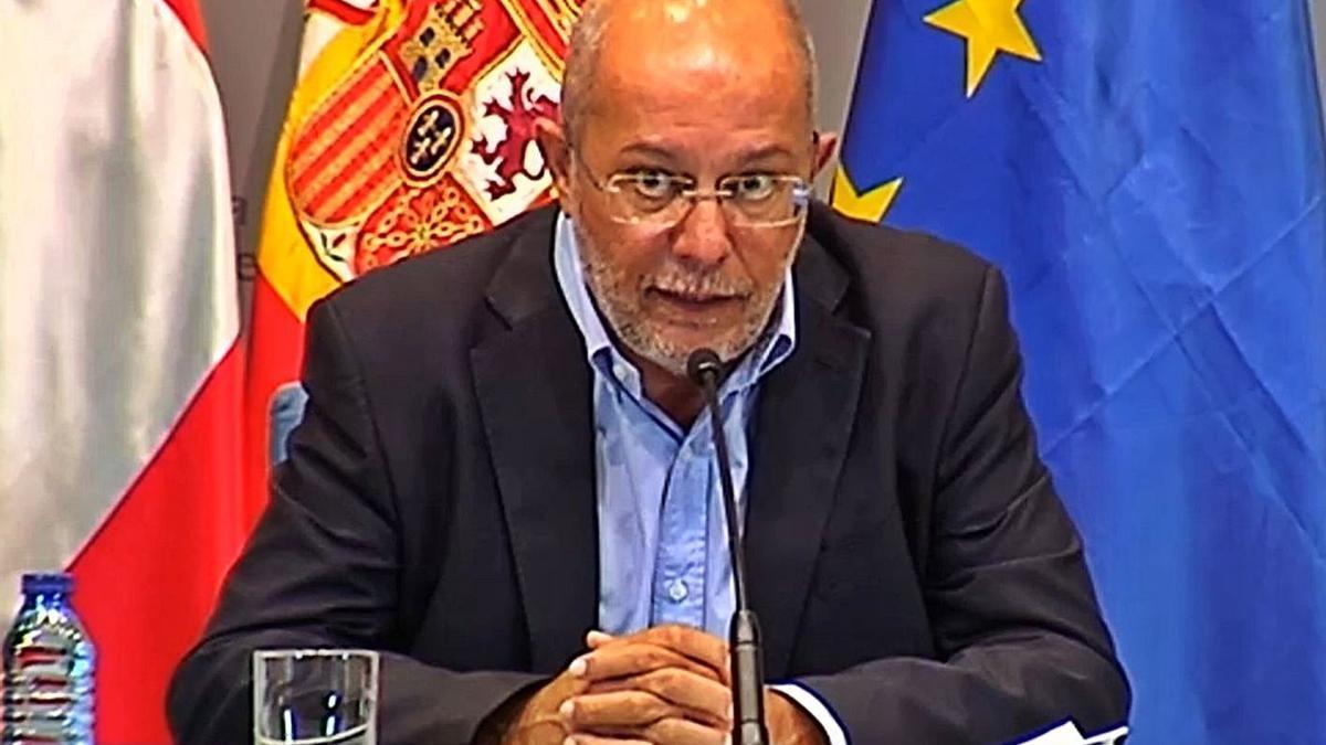 Francisco Igea, vicepresidente de la Junta de Castilla y León, ayer. | Europa Press