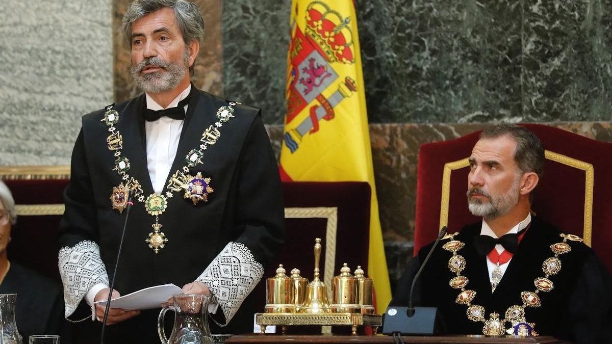 Lesmes replica al Govern con el respeto al ordenamiento de todos los poderes públicos
