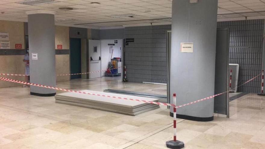 Sin puerta giratoria en el Hospital de Elda