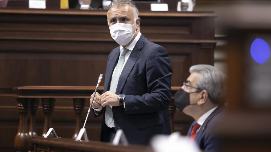 Torres aspira a lograr los máximos fondos posibles de la UE para reconstruir La Palma