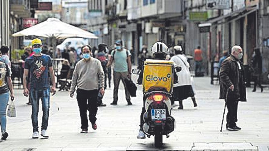 Pontevedra y Caldas empeoran la evolución de la pandemia en el área sanitaria