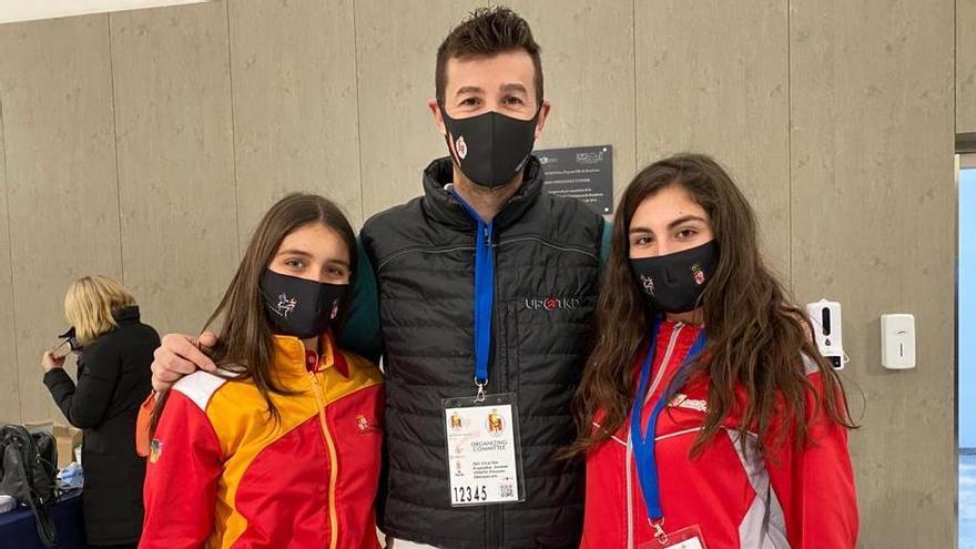Ana Borrego, del Taekwondo Ternera de Aliste,  medalla de bronce en el Campeonato de España júnior