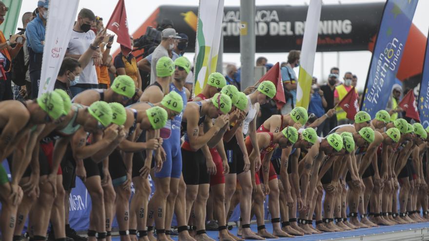Campeonato de Europa de Triatlón élite masculino de Valencia 2021