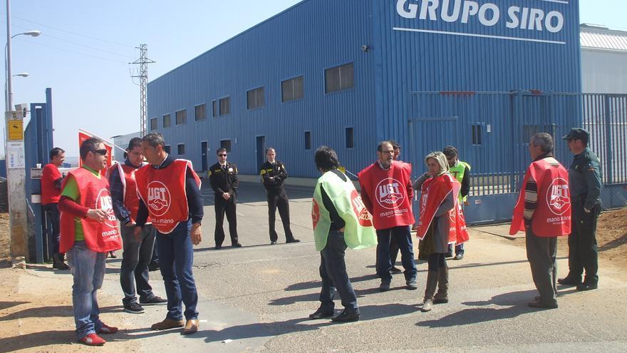 Los trabajadores de Siro convocan huelga