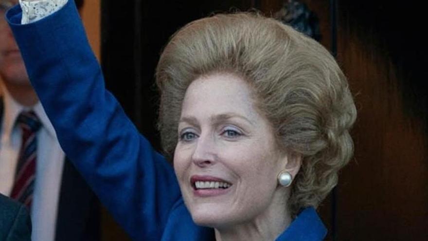 Gillian Anderson, així és la Thatcher de «The Crown»