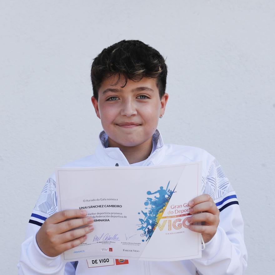 Unai Sánchez Cambeiro-Gimnasia