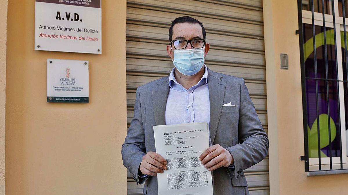 Alvaro Mulas tiene el número 41 de la lista de espera del PEF de Paterna. | M.A. MONTESINOS