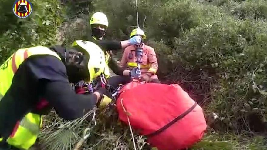Muere un senderista tras sufrir una caída en el paraje de la Murta de Alzira