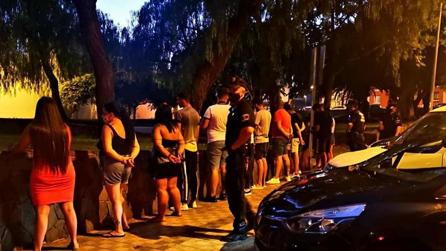 25 multas por hacer botellón en Santa Cruz de Tenerife