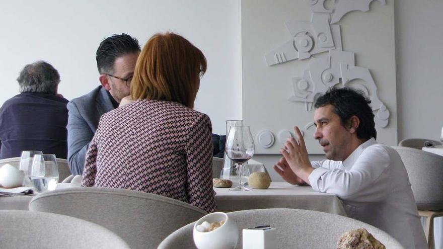 """El doble """"estrella Michelin"""" Javier Olleros, Hijo Predilecto de O Grove"""