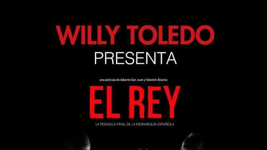 L'actor Willy Toledo presenta el film «El Rey» als cinemes Las Vegas de Figueres