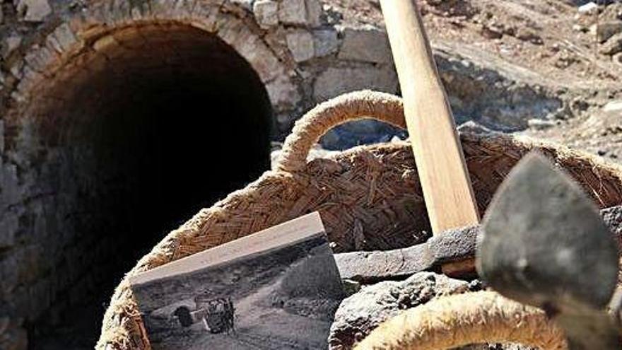 Calonge de Segarra vol fer visitable una vella galeria de la mina Vicenta