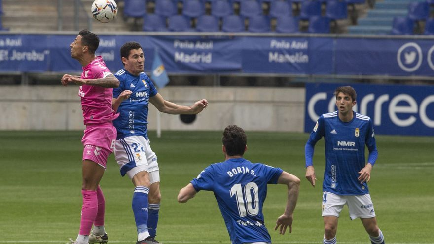Un Oviedo decepcionante y sin ambición empata ante Las Palmas antes del derbi (0-0)