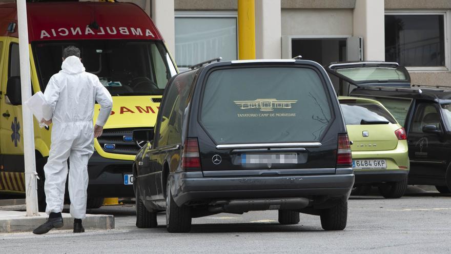 El coronavirus hace que la Comunitat Valenciana registre 7.347 muertes más de las esperadas el último año