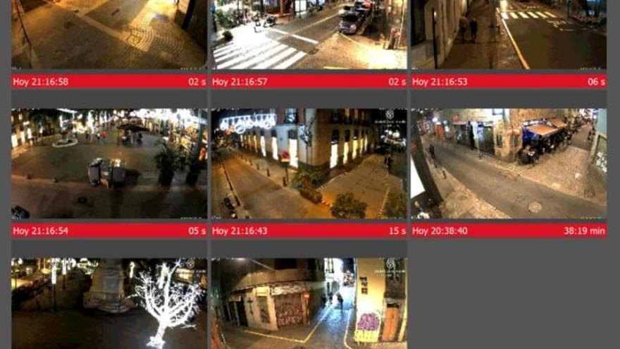 Santa Cruz activa 20 cámaras de vídeo en las calles para evitar posibles aglomeraciones
