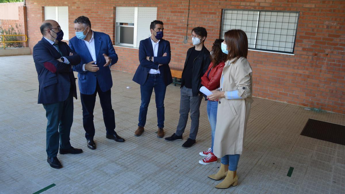 Visita al IES de Vilalonga