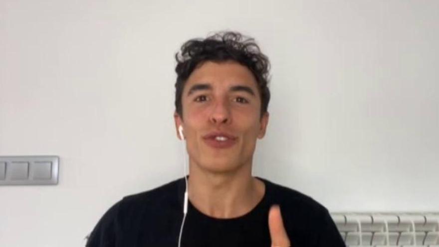 Marc Márquez explica qué hace durante el confinamiento