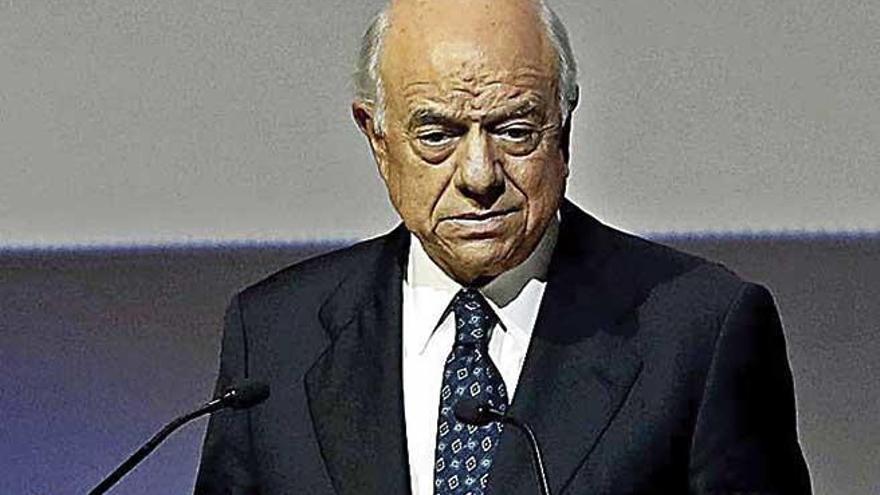 Francisco González: expresidente del BBVA, se refugia en Andratx