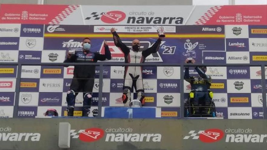 Carlos Blanco, campeón de España Handy