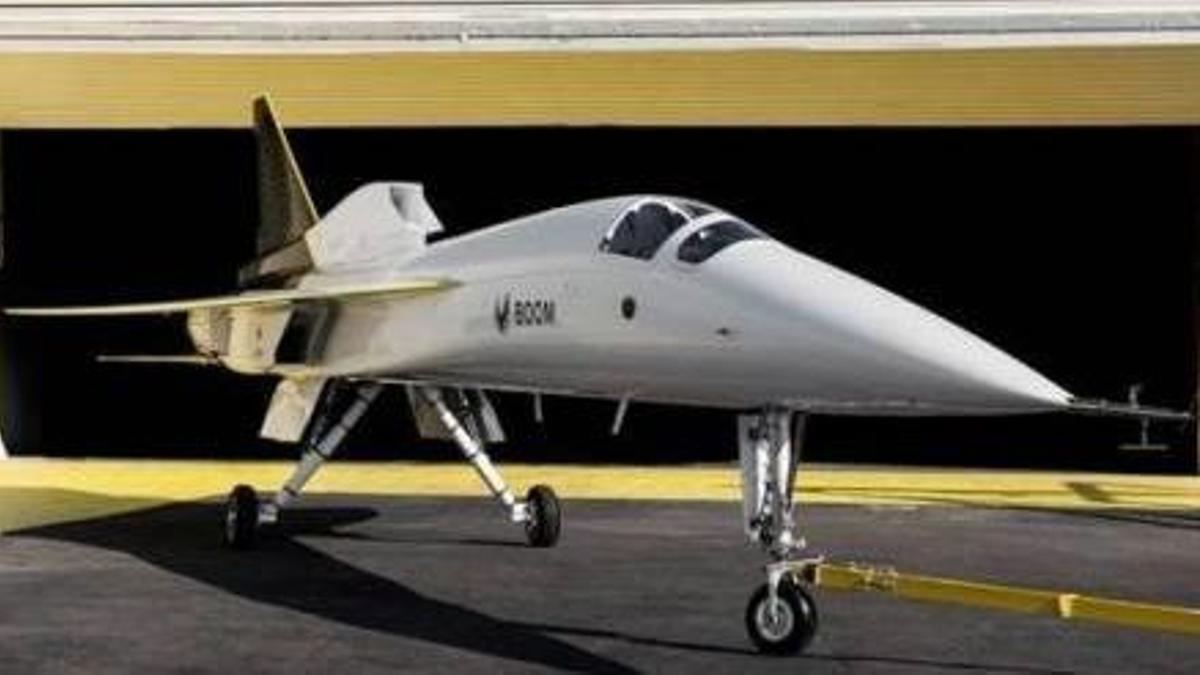 El avión supersónico tiene previstos sus primeros vuelos en 2026