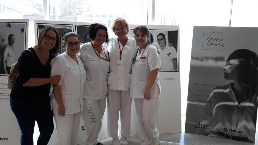 Exposición sobre ostomía en el HUC