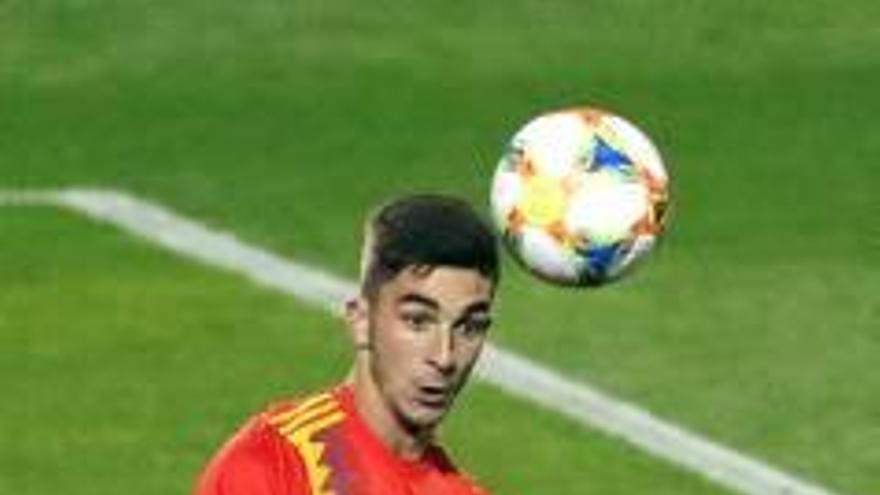 La sub-21 de Ferran Torres golea a Macedonia (3-0) y refuerza el liderato