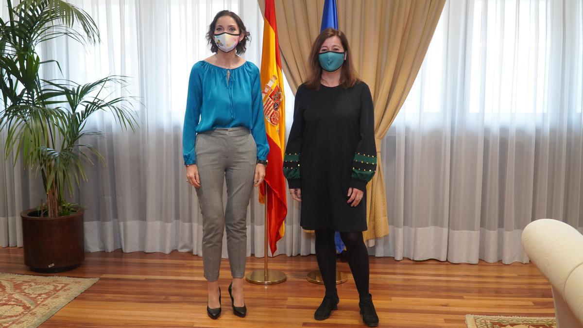 La ministra Maroto mantiene este jueves en Palma reuniones con representantes de turismo, comercio e industria