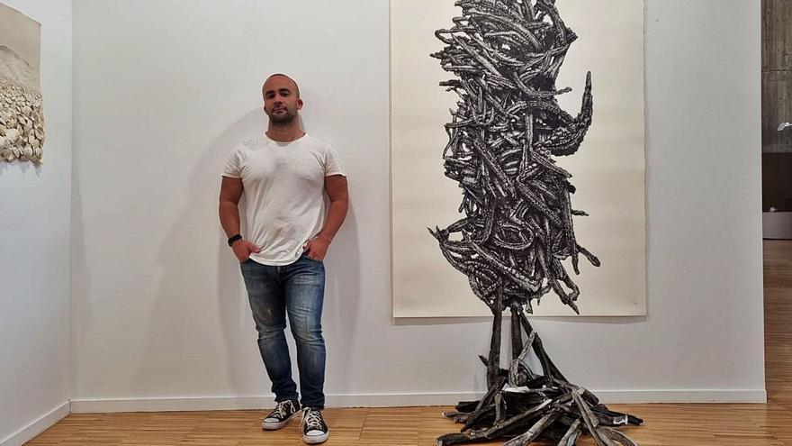 La Galería Artizar viaja con la obra de Marco Alom a la Feria Artesantander