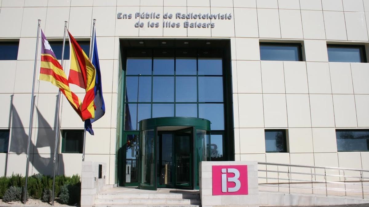 Edificio de IB3 en Son Bugadelles, Calvià.