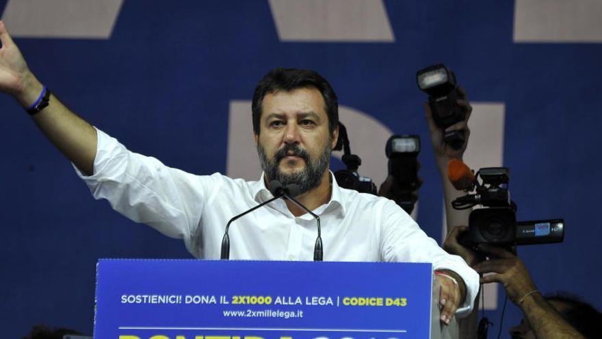 La Audiencia Nacional archiva las diligencias contra Salvini