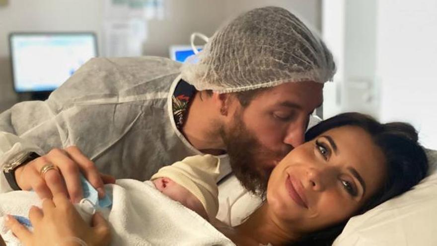 Pilar Rubio y Sergio Ramos presentan a su cuarto hijo