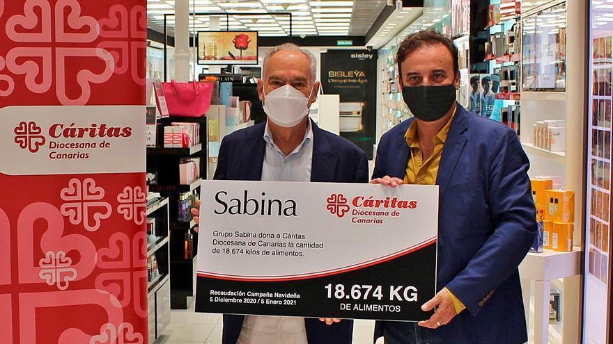 18.674 kilos de solidaridad en la campaña de alimentos