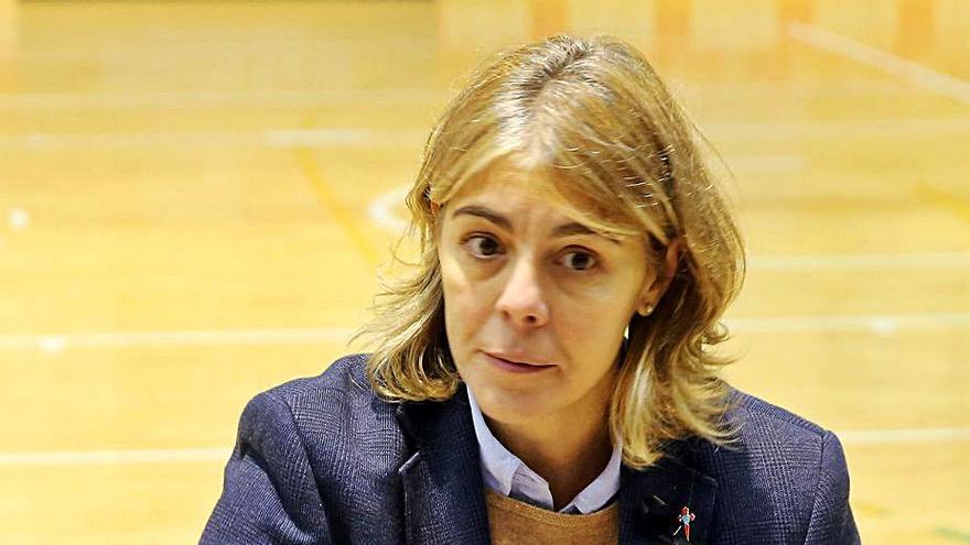 "Cristina Cantero, entrenadora del Celta Zorka Recalvi: ""El reto de ascender está ahí, estará siempre, pero no me obsesiona"""