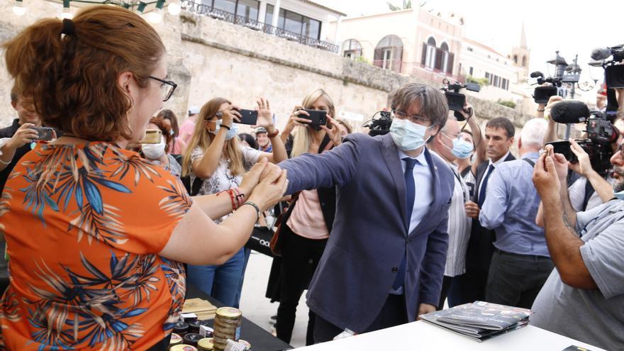 Puigdemont reapareix a l'Aplec Internacional d'Adifolk a l'Alguer després de la seva posada en llibertat