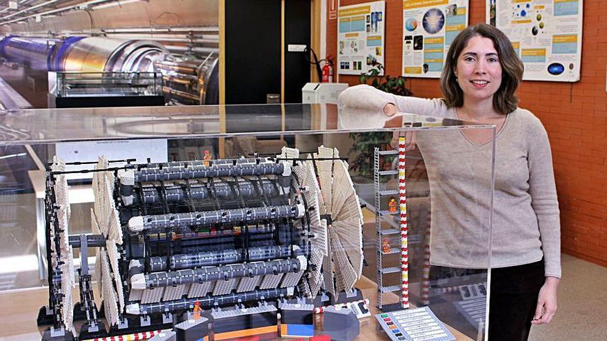 Una física de la UV participa en el acelerador de partículas