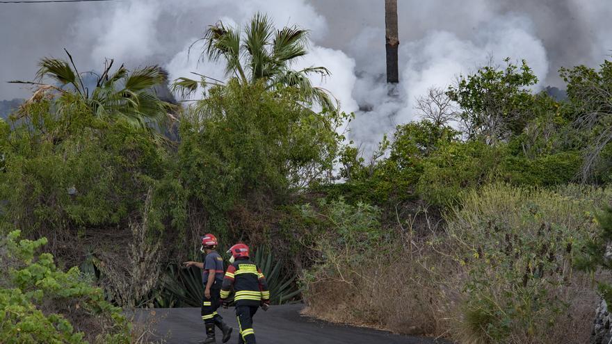 Una setmana de l'erupció del volcà de La Palma:  6.000 veïns evacuats i unes 400 edificacions perdudes