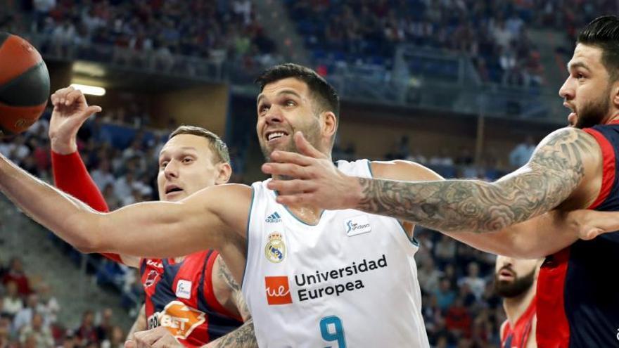 El Madrid da la vuelta a la final en un intenso duelo ante el Baskonia en Vitoria