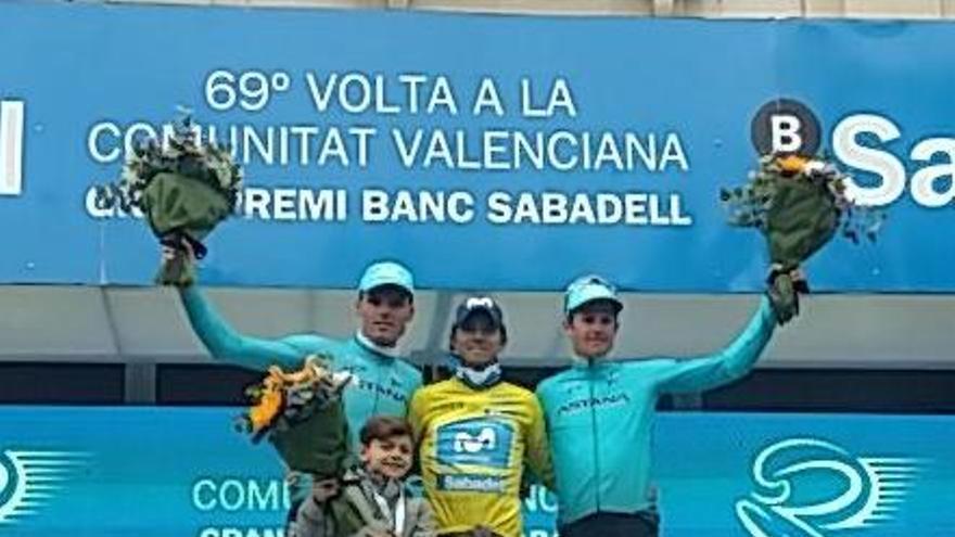 Valverde, campeón de la Volta a Valencia con Luis León segundo