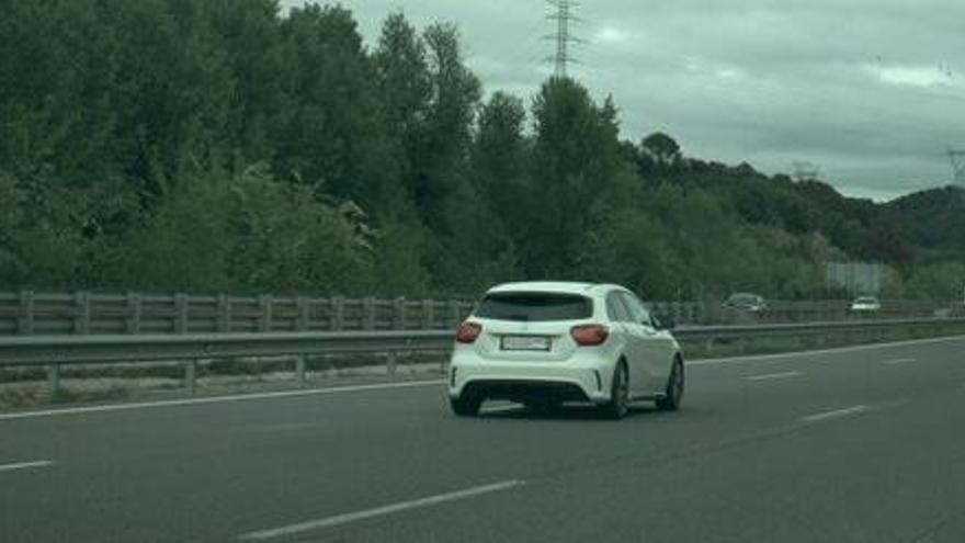 Atrapen un conductor a 231 km/h per l'AP-7 al seu pas per Sant Julià de Ramis