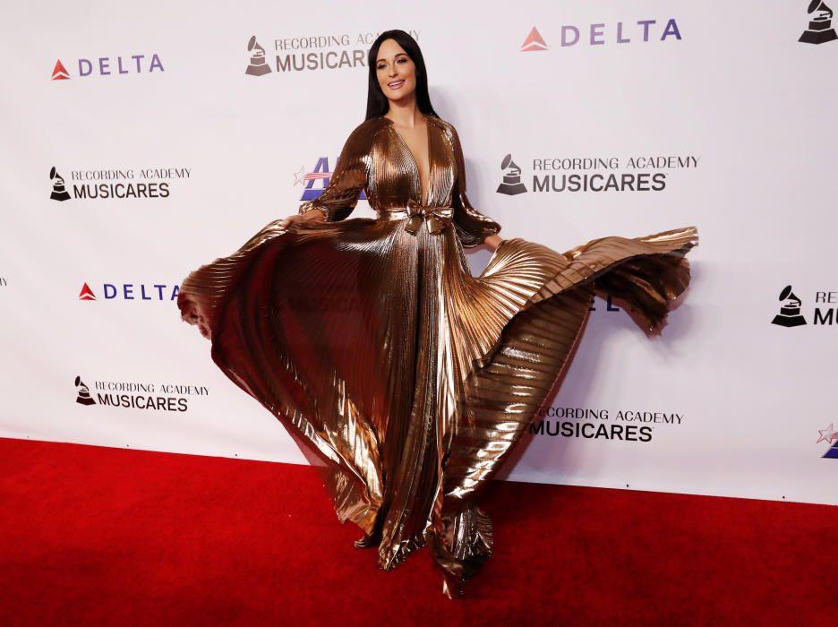 Kacey Musgraves en los Grammy.