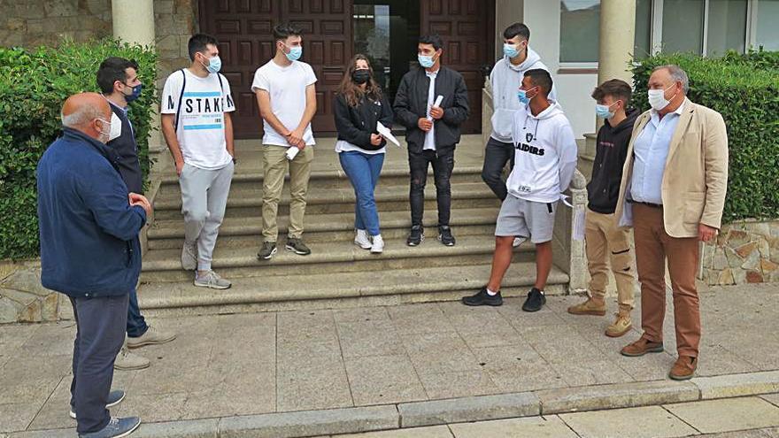 En marcha el programa de voluntariado juvenil de Protección Civil de A Laracha